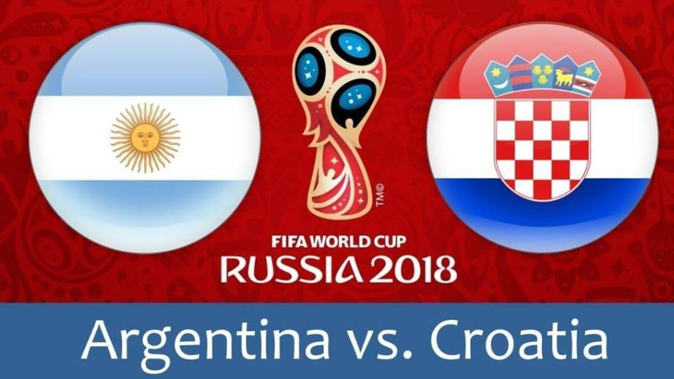 FIFA 2018- Argentina vs Croatia Prediction