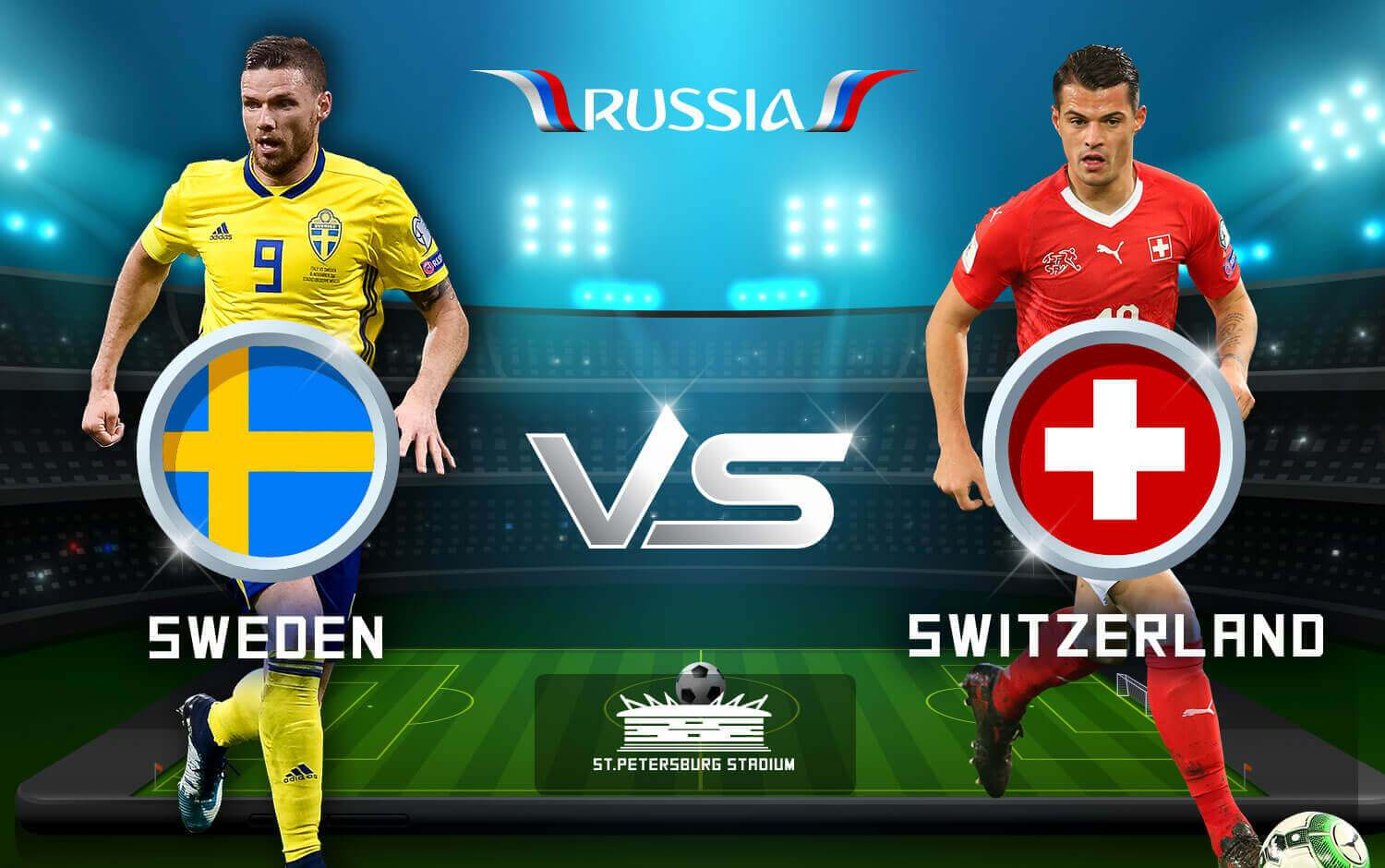 Sweden vs Switzerland